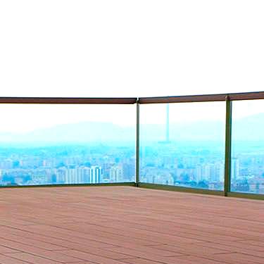Эксплуатируемые крыши смотровые площадки ДПК